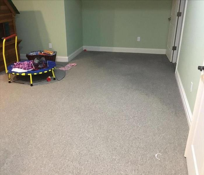 Storm Damage to Carpet
