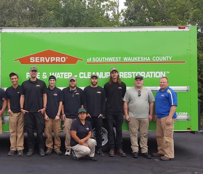 General SERVPRO of Southwest Waukesha County is growing